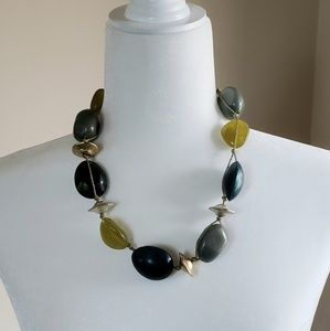 Chico's chunky stone necklace